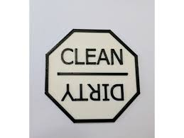 Dirty Clean Dishwasher Magnet Clean Dirty Dishwasher Magnet By Winsinor Thingiverse