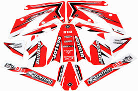 honda xr 250 graphic kit flu designs
