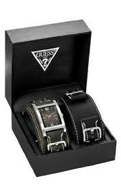 montre guess bracelet cuir images Guess 75540g1 montre homme quartz analogique coffret jpg