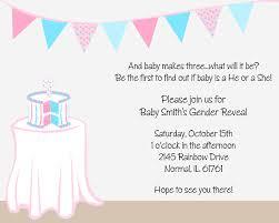 gender reveal baby shower reveal baby shower invitations
