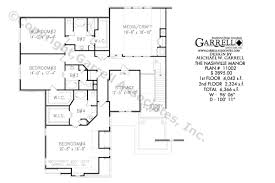 French Country Plans Nashville Manor House Plan Covered Porch Plans