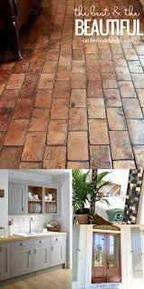 remodelaholic friday favorites wood block floor and a beautiful friday favorites wood block floors farmhouse style pantry and decor ideas two tone