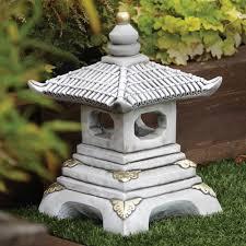 one tier japanese pagoda lantern garden ornament s s shop