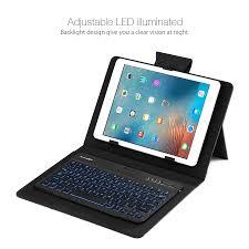 galaxy car gif blitzwolf 3 colors led backlight bluetooth keyboard pu leather