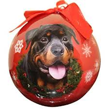 rottweiler ornament a great gift for rottweiler owners