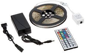 led strip lights remote amazon com adx 16 4ft waterproof flexible strip light kit 300
