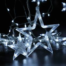 christmas star window decoration light u2013 decoration image idea
