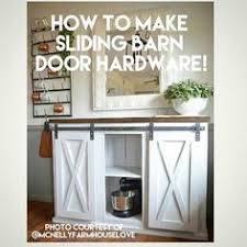 How To Make A Sliding Barn Door by Build A Tv Stand Or Media Console With These Free Plans Barn