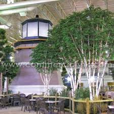 artificial trees faux trees for indoor pool waterpark