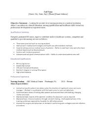 Nurse Resume Format Sample Free Student Nurse Resume Template Sample Ms Word