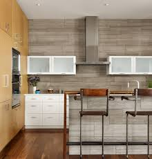 wood backsplash kitchen rollingwood residence contemporary kitchen by chioco