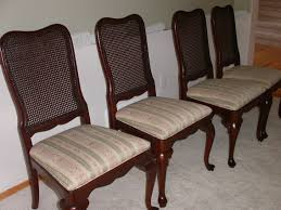 Dining Room Chair Cushions With Ties by How To Reupholster A Dining Room Chair Agreeable Interior Design