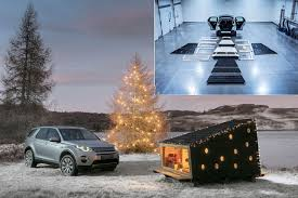 maserati christmas the diy flat pack christmas cabin that fits in a disco sport by