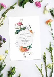 Wedding Invitation Design Botanical Wedding Invitations Botanical Wedding Invitations Along