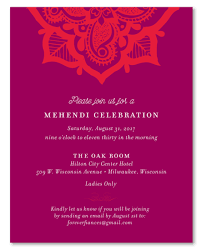 photo insert cards mehndi insert cards on 100 recycled paper henna flower by