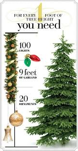 how many lights for a 7ft christmas tree 20 christmas hacks and tips christmas tree holidays and christmas