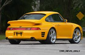 porsche ruf yellowbird 1997 ruf porsche 911 turbo r yellowbird 7