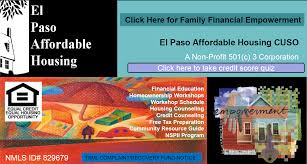 Paso A Paso by El Paso Credit Union Affordable Housing Hoap Inc