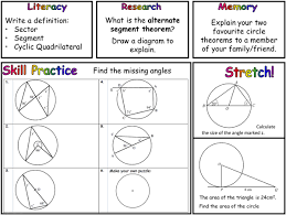 Interior Angles In A Circle Shape Mathematics Pret Homeworks