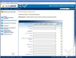 scarica curriculum vitae europeo da compilare gratis pdf curriculum vitae compila online il tuo curriculum vitae su internet