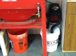 harbor freight sand blast cabinet upgrades fashionable harbor freight blast cabinet simple dust trap for your