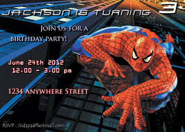 spiderman birthday card u2013 gangcraft net