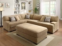 extra wide sectional sofa brown extra large sectional sofas on the wooden floor furniture