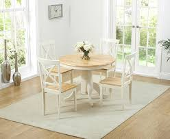 Epsom Cream Pedestal Extending Dining Table With Chairs The - Cream kitchen table
