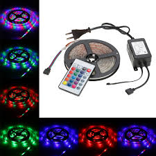 color changing led strip lights with remote 270 leds remote control led strip light rgb color changing 5 modes