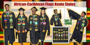 kente graduation stoles class of 2018 flags kente graduation stoles