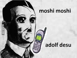 Moshi Moshi Meme - moshi moshi adolf desu eurokeks meme stock exchange