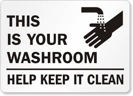 How To Keep Your Bathroom Dry Bathroom Clean Signs Bathroom Closed For Cleaning Signs