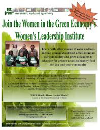 women u0027s leadership institute u2013 opportunity for women of color and