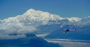 Alaska Air Flight Map by Explore Fairbanks Alaska Flightseeing Ballooning