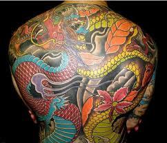 70 body dragon tattoos