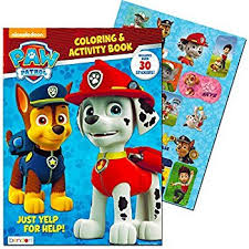 amazon paw patrol coloring books 2 pack toys u0026 games