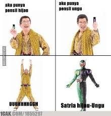 Malay Meme - kamen rider w ppap meme xd kamen rider amino amino