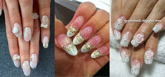 10 inspiring 3d wedding nail art designs ideas trends u0026 stickers