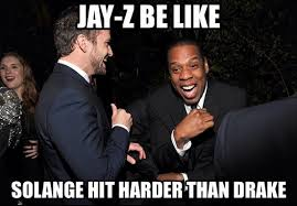 Kanye And Jay Z Meme - beyonce and jayz and solange meme the funniest jay z beyonce