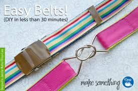ribbon belts tutorial easy diy ribbon belts