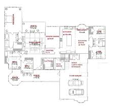 2 Story Open Floor Plans by 100 House Plans One Story Craftsman House Plans One Story