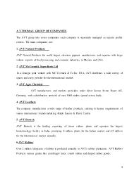 av thomas organisational study report