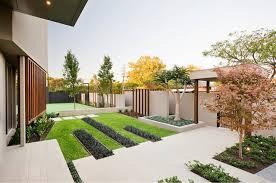 Ideas Landscaping Front Yard - modern elegance c o s design