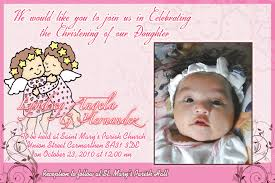 layout for tarpaulin baptismal invitation tarp lyndsay angela baptismal filipino web designer