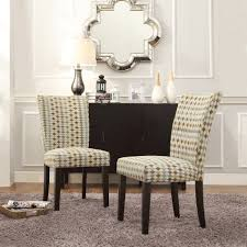 dining rooms appealing fabric parsons dining chairs image of