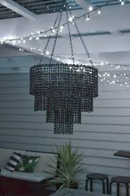 Beaded Chandelier Diy In The Night Sky