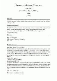 Nannies Resume Sample by Lofty Babysitter Resume Sample 13 Nanny Resume Example Sample