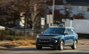 2017 ford explorer in depth model review car and driver