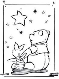 download christmas coloring pages winnie pooh drawing