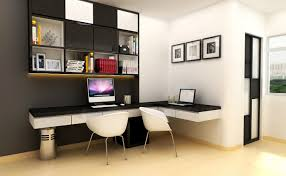 incredible concept black and white computer desk photograph of